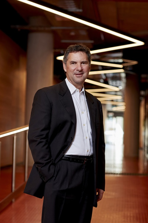 Picture of CSIRO Chief Executive, Larry Marshall in our new Synergy Building