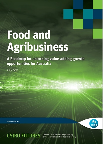 Cover of the Food and Agribusiness Roadmap report