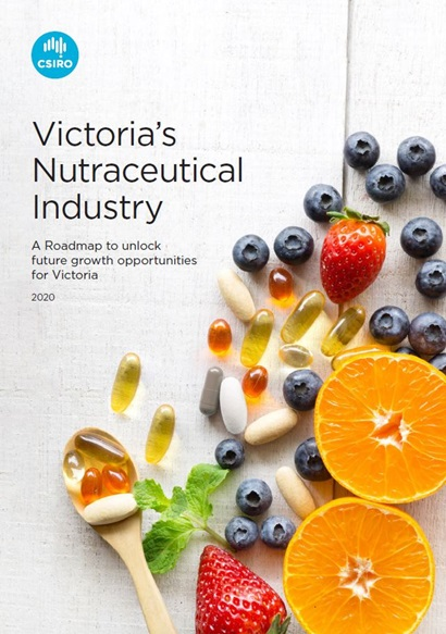 Cover of Victoria's Nutraceutical Industry roadmap