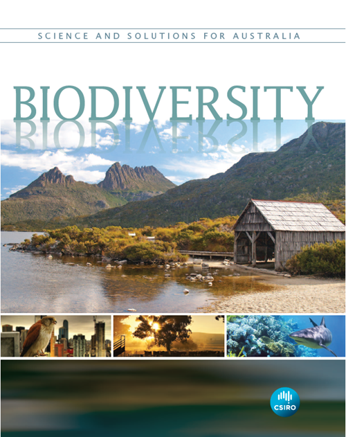 Front cover of the book 'Biodiversity: Science and Solutions for Australia' by CSIRO.