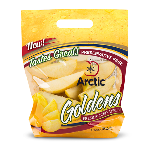 packet of Arctic golden apple slices