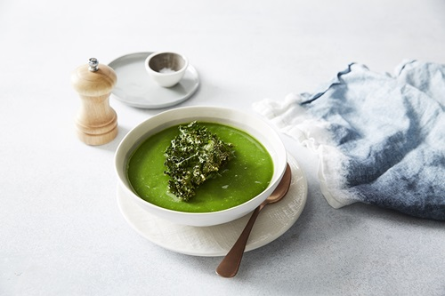 Green Soup Crispy Kale