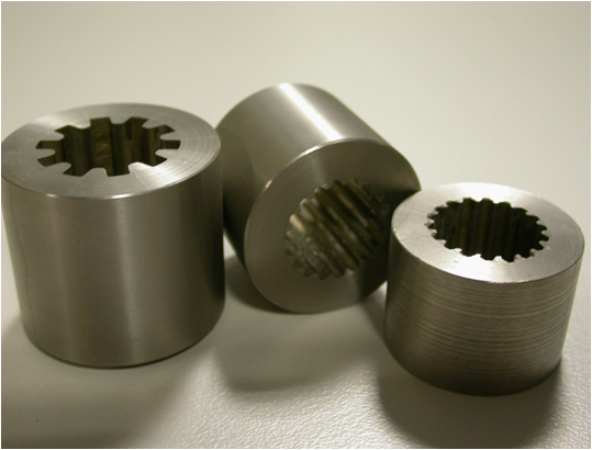 Industrial parts produced using CSIRO's cold spray technique