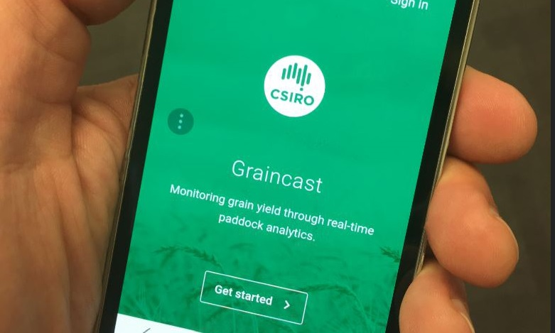 For the first time, Australian farmers can forecast grain yield at the touch of a button thanks to our new smart phone app, Graincast
