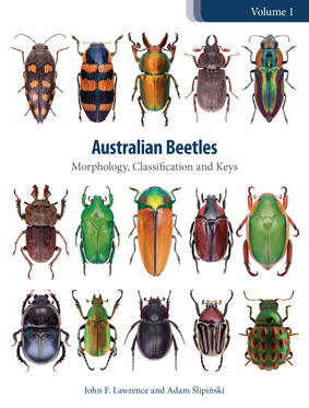 Front cover of the title 'Australian Beetles'