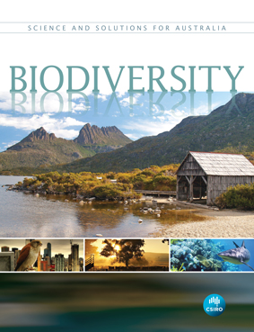 Front cover of the 'Biodiversity' book.