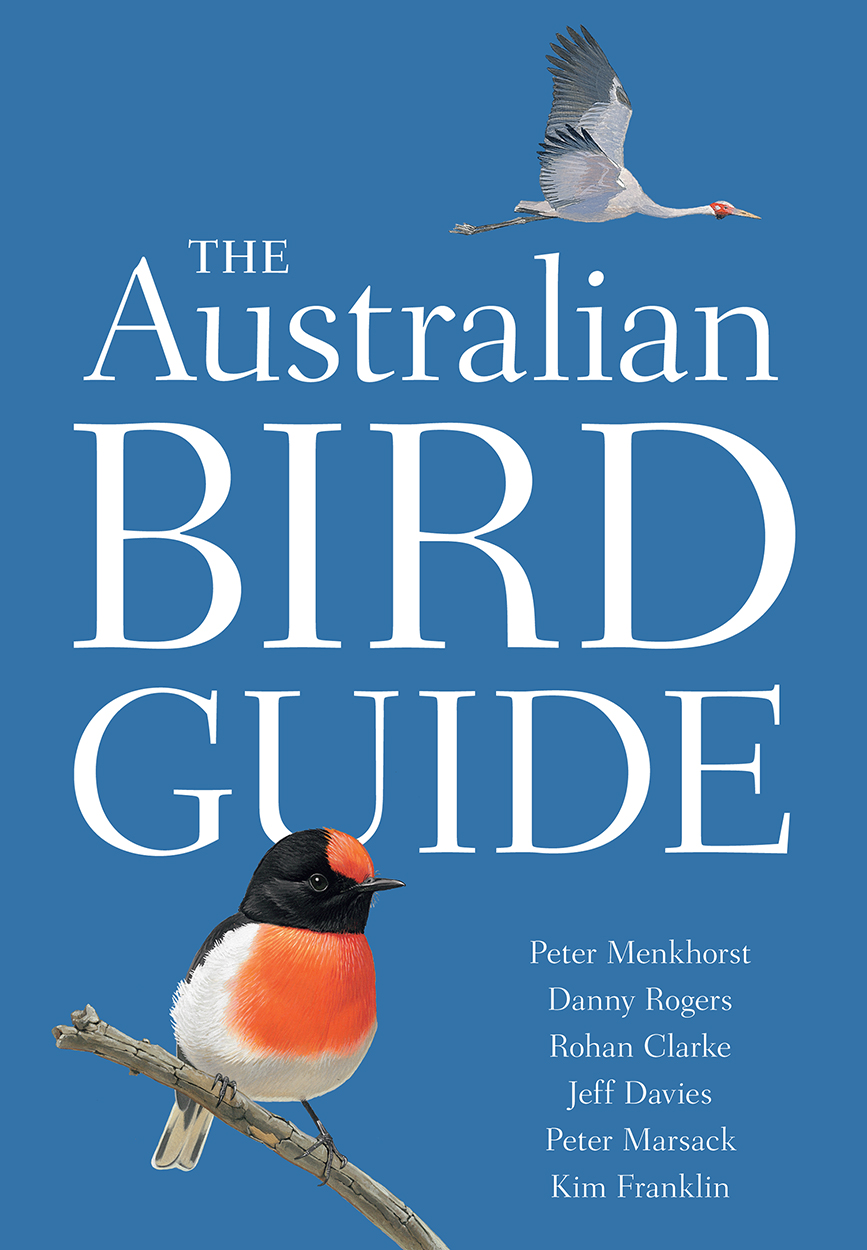 Book cover of The Australian Bird Guide.