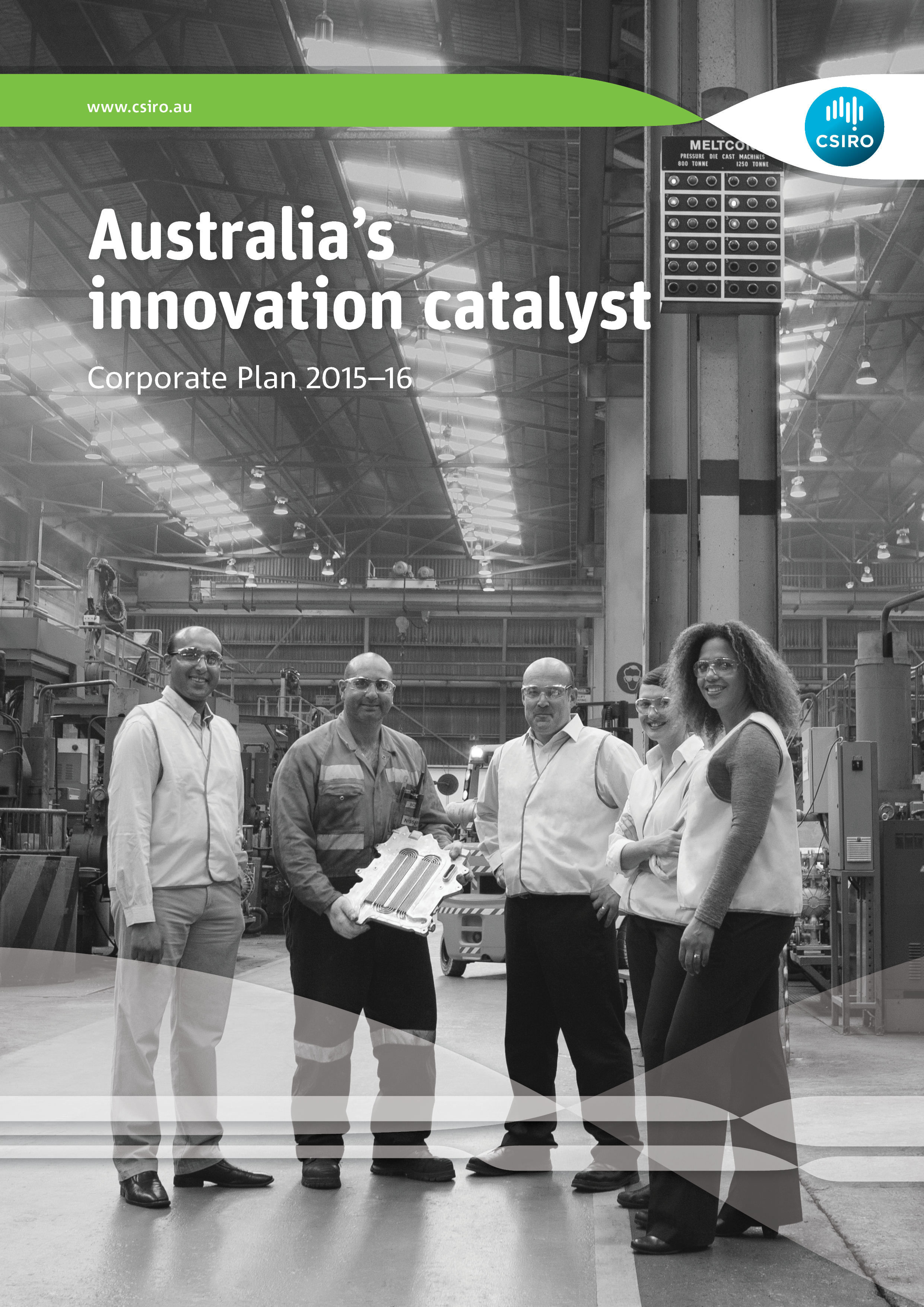 Cover CSIRO Corporate Plan 2015-16