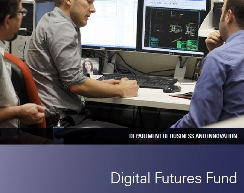 Digital Futures Fund State Government of Victoria logo