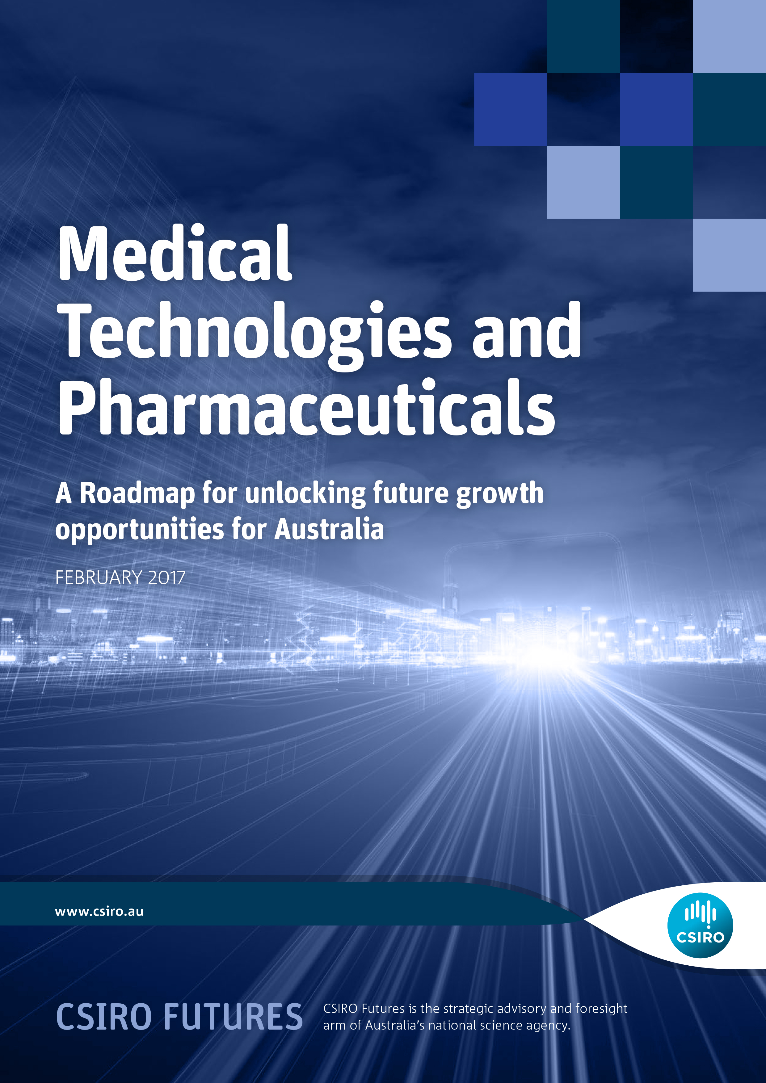 Medical Technologies and Pharmaceuticals Roadmap report cover