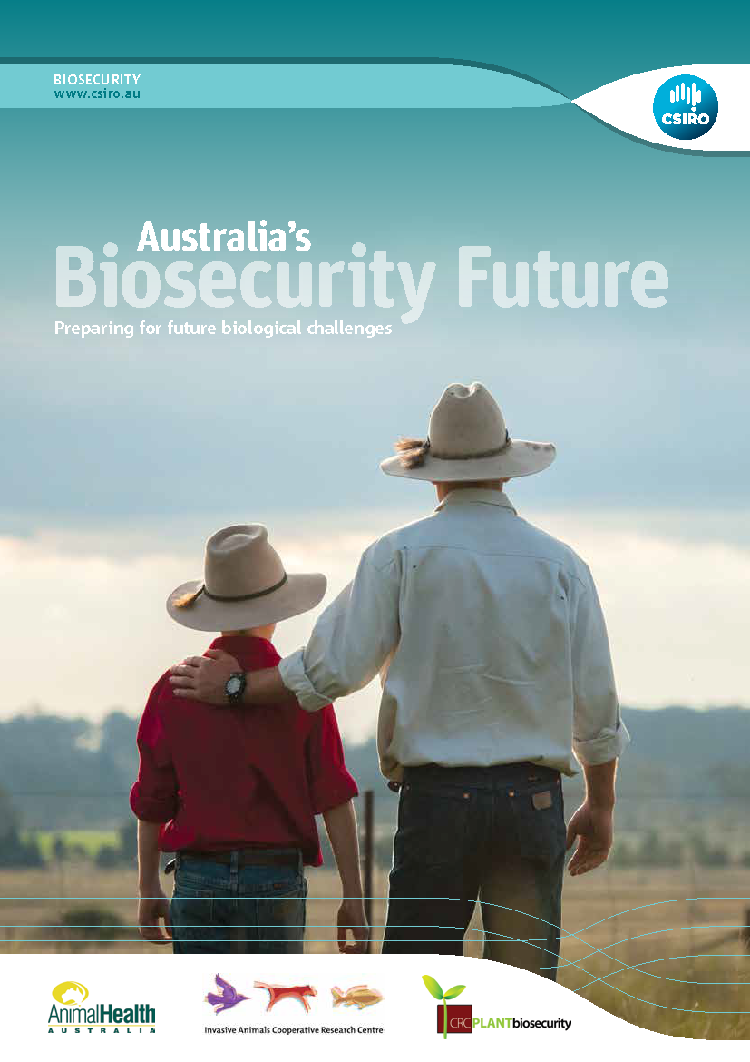 Australia's Biosecurity Future report cover