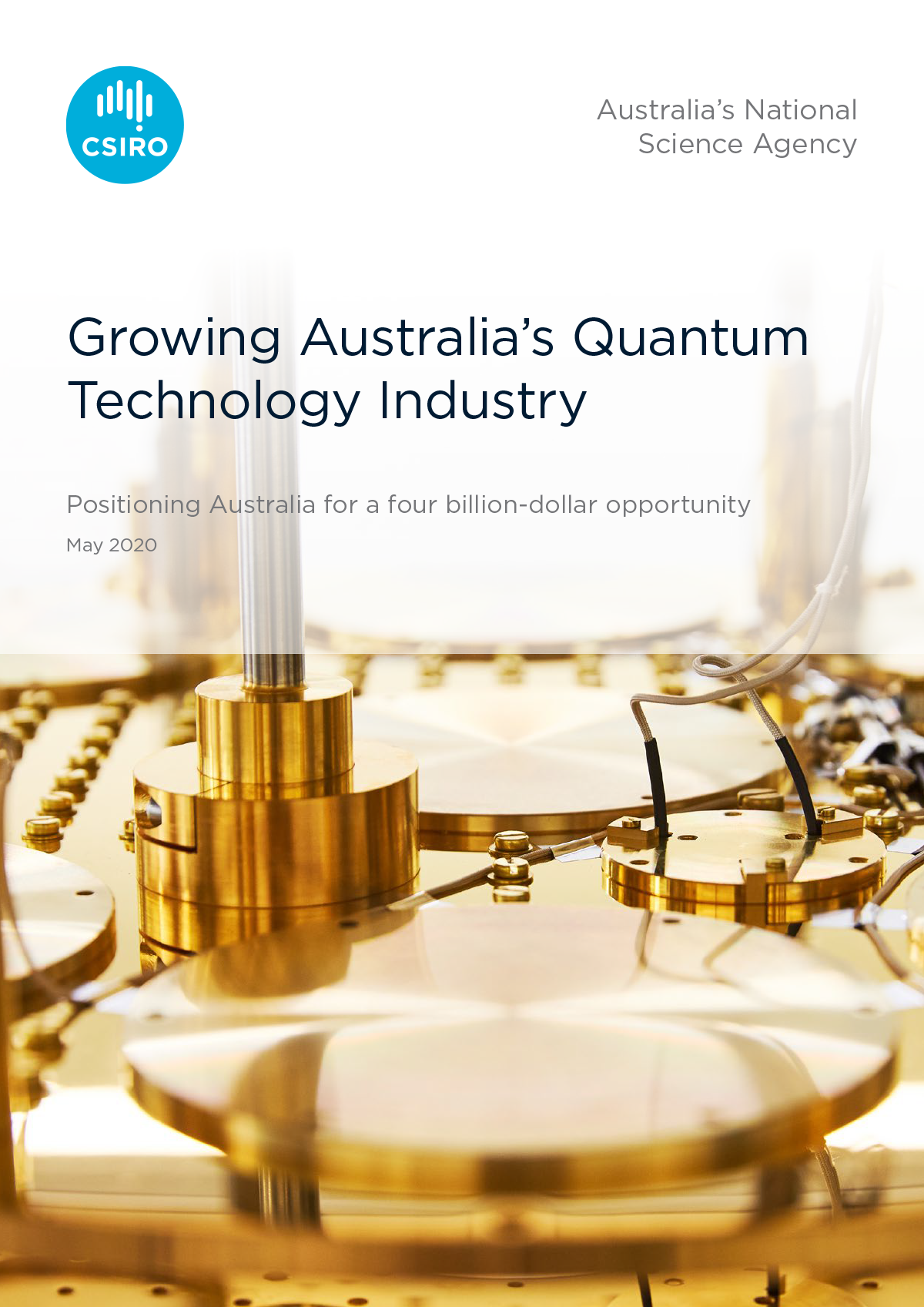 Cover of Growing Australia's Quantum Technology Industry report
