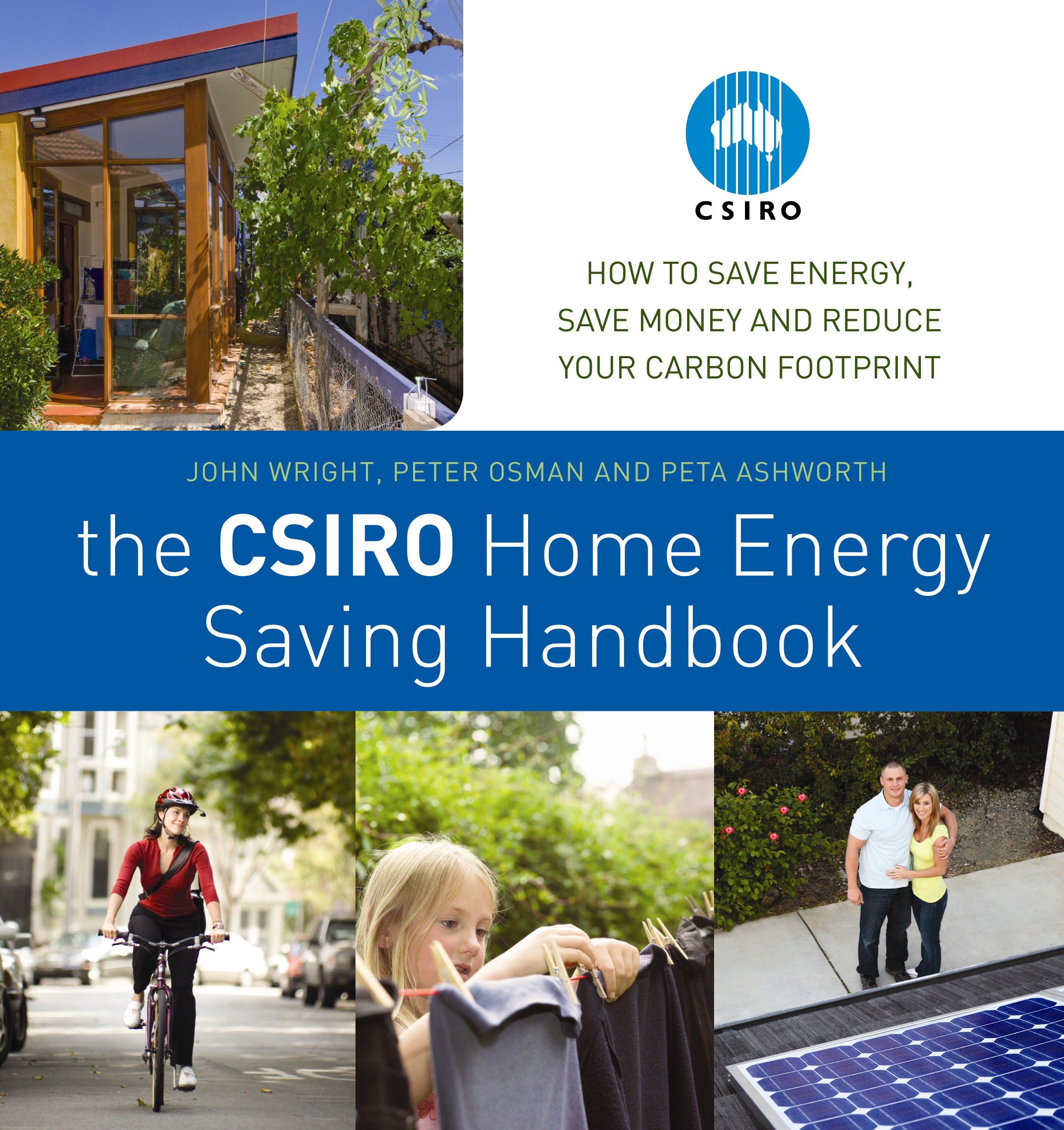 Cover of the CSIRO Energy Saving Handbook by John Wright, Peter Osman, and Peta Ashworth.