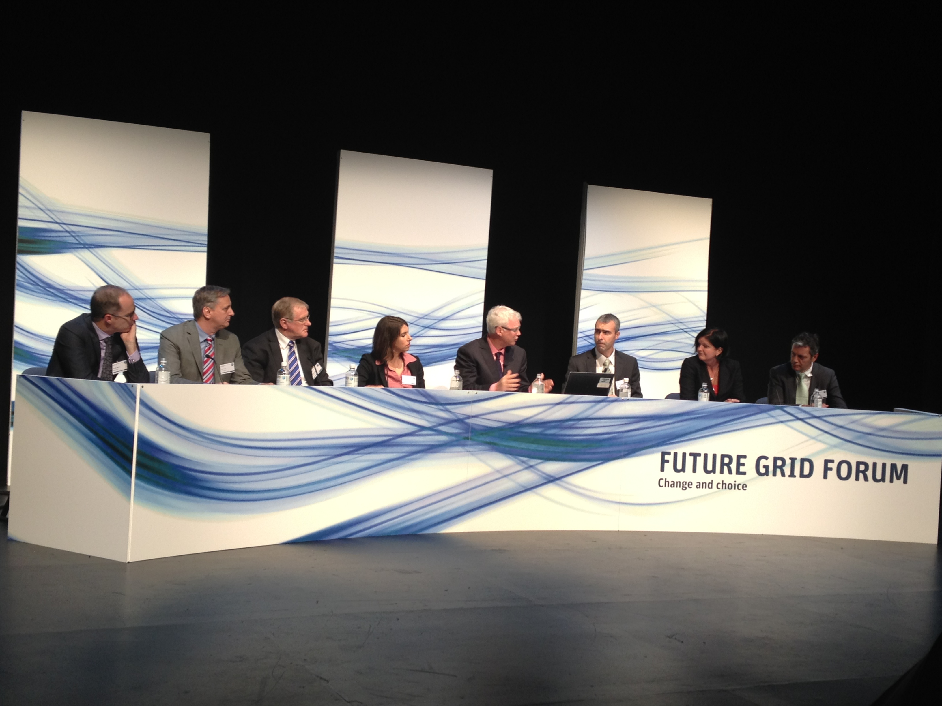 Future Grid Forum speaker panel