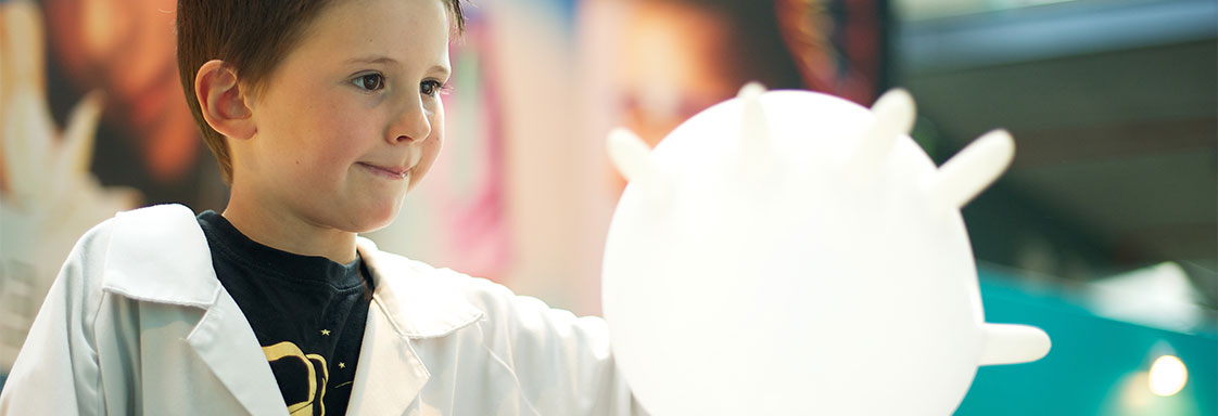 Get hands on with our DIY science activities