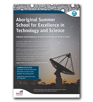 Download the ASSETS 2016-17 summer schools poster now [pdf · 2mb].