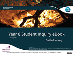 Thumbnail image of I2S2 Year 8 Fire Student Guided Inquiry eBook Resource
