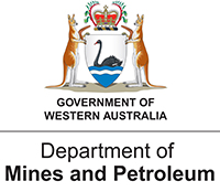 Department of Mines and Petroleum logo