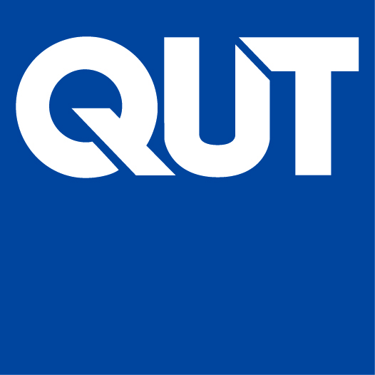 Queensland University of Technology logo.