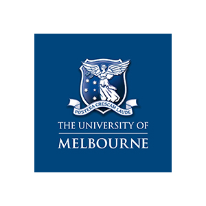 The University of Melbourne logo.