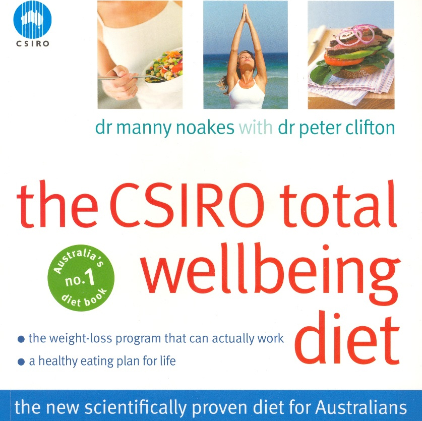 CSIRO Total Wellbeing Diet books - CSIRO