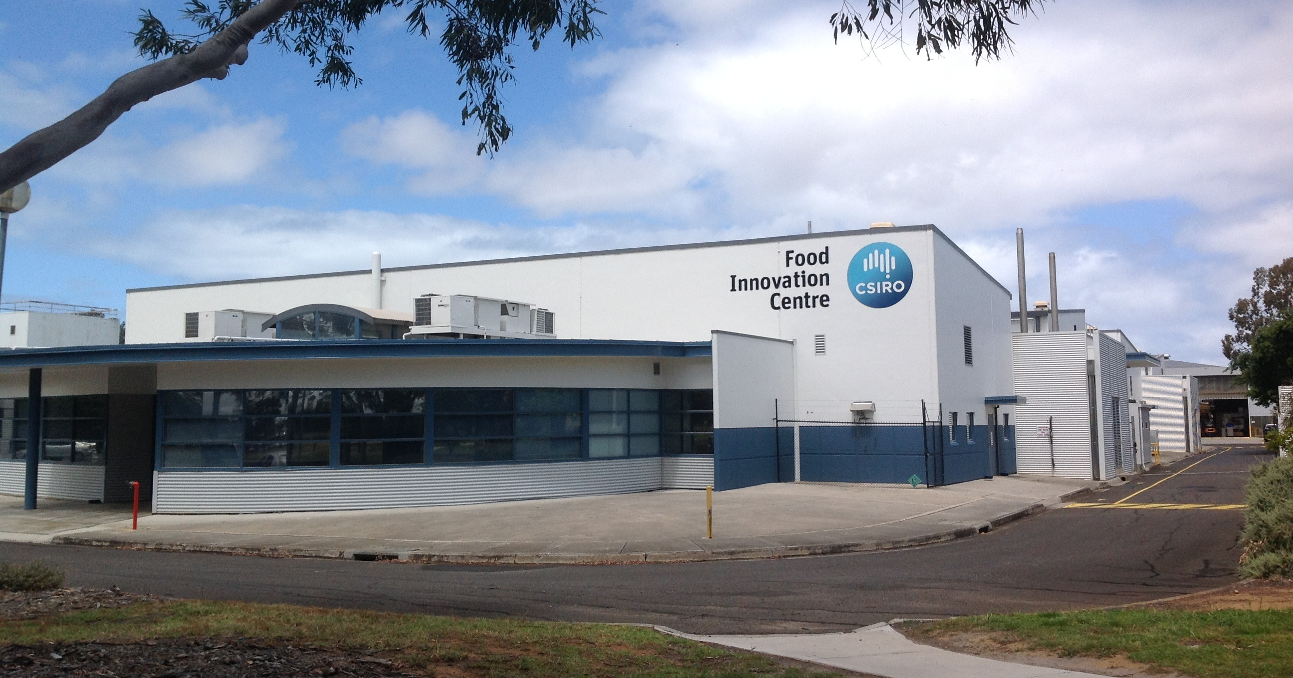 Exterior of CSIRO's food innovation centre pilot plant in Werribee, Victoria.