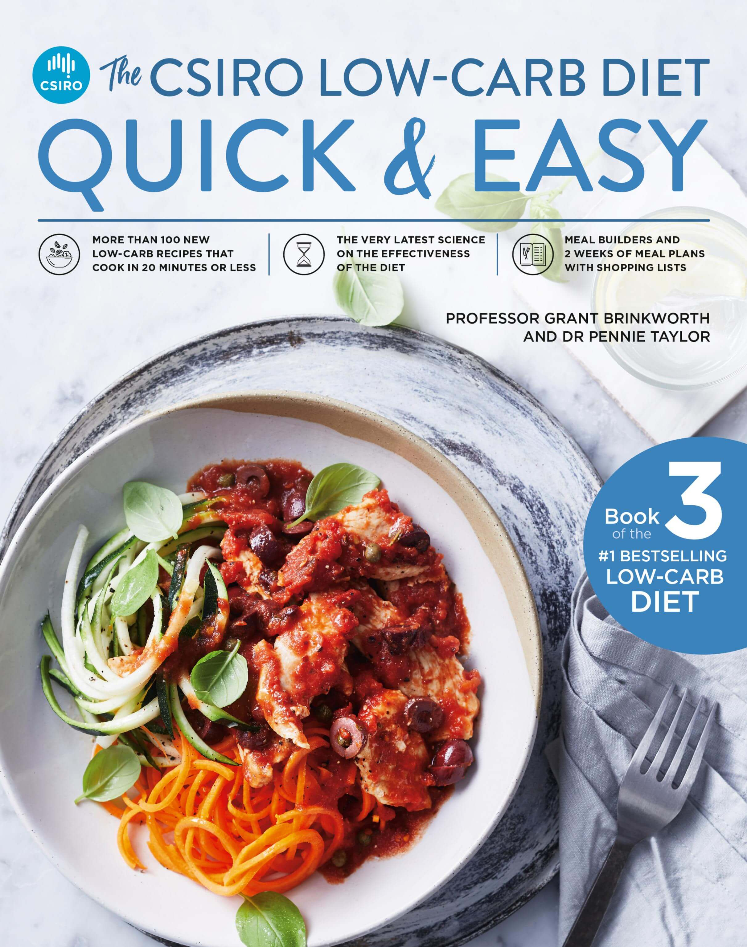 Image of The CSIRO Low-Carb Diet Quick and Easy bookcover
