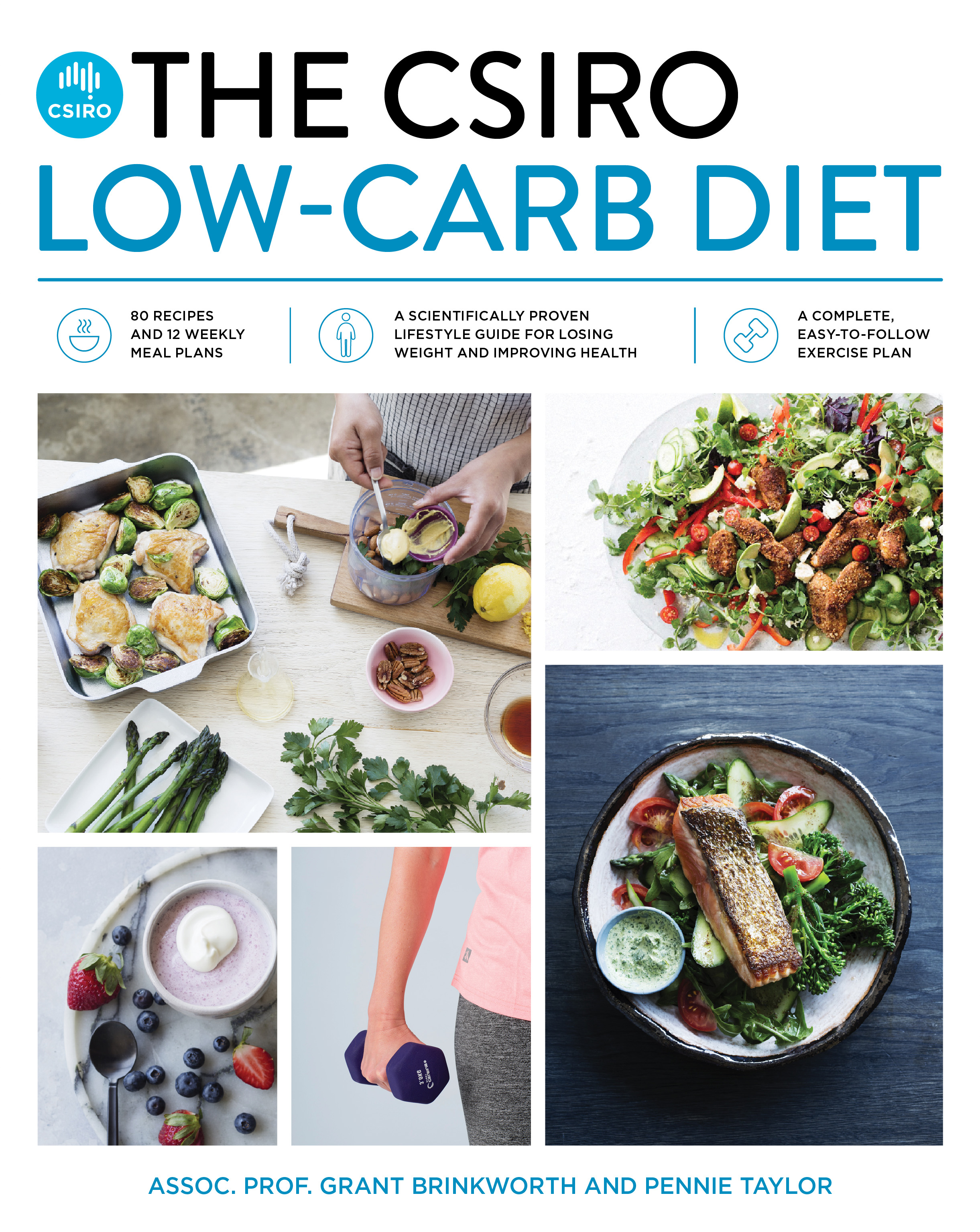 The CSIRO Low Carb Diet book cover