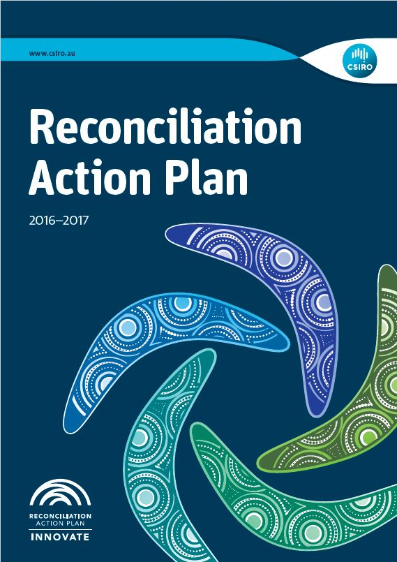 The front cover of the Recocniliation Action Plan