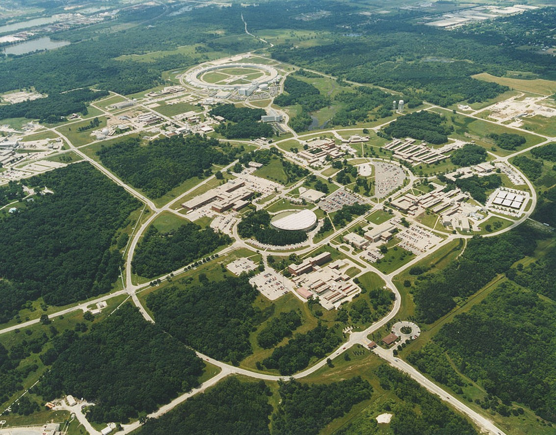 Aerial Photo of Argonne Laboratory