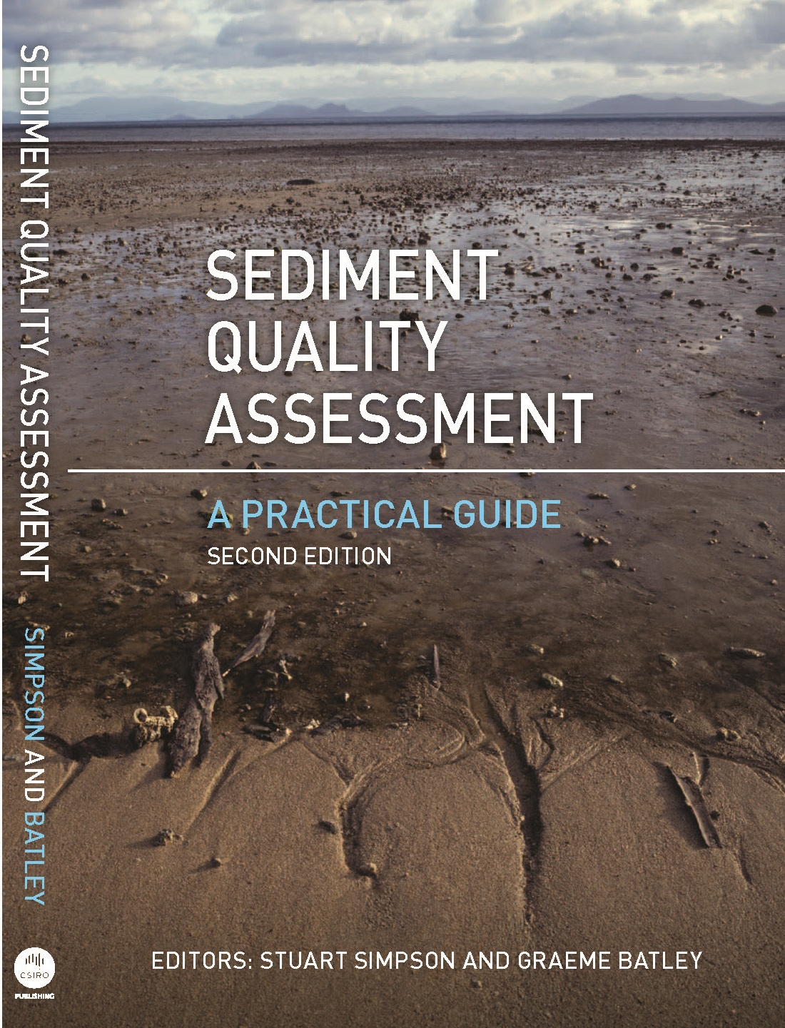 Front cover of the book: Sediment quality assessment — A practical guide, second edition.