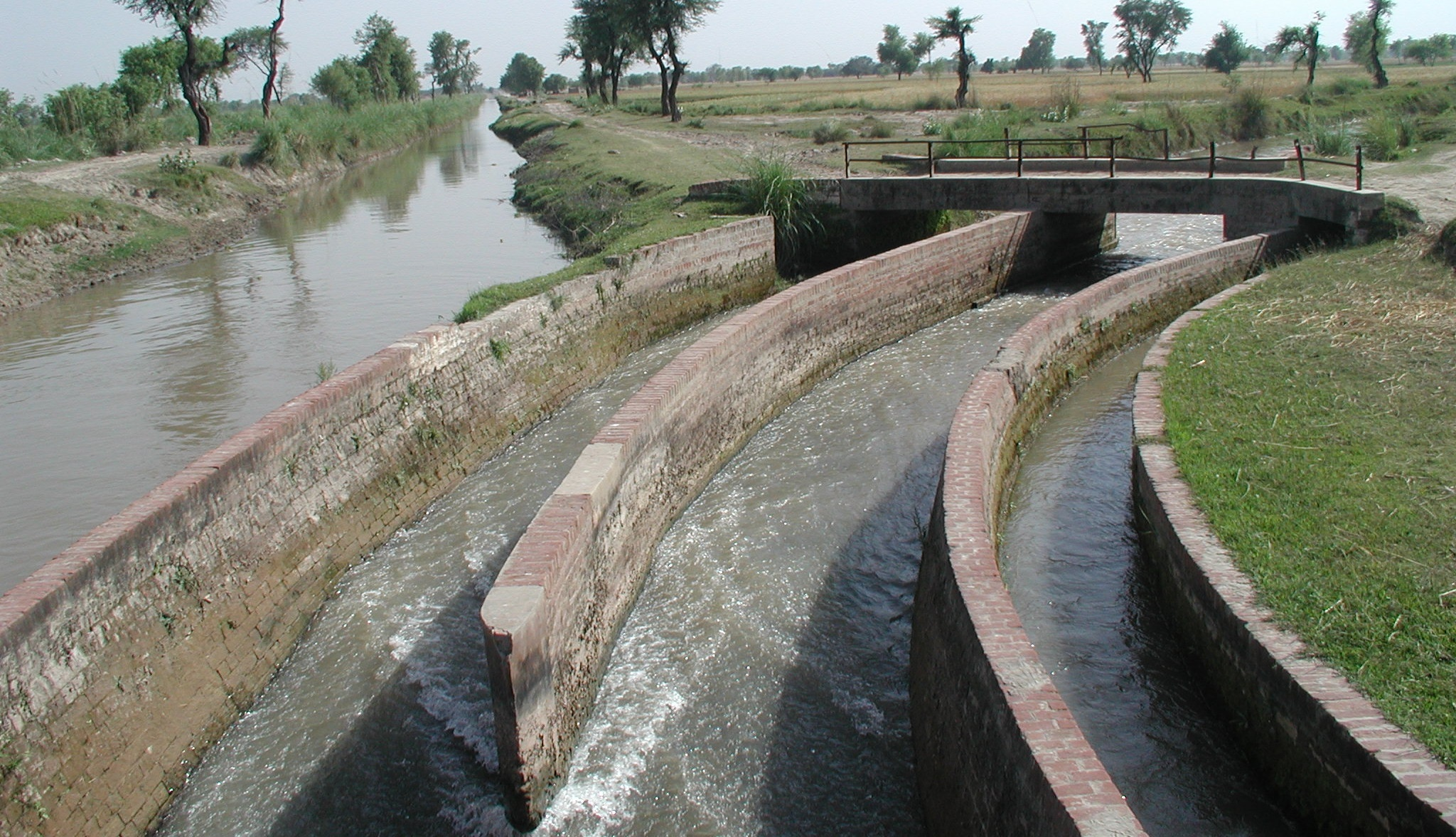 Water channels in Pakistan