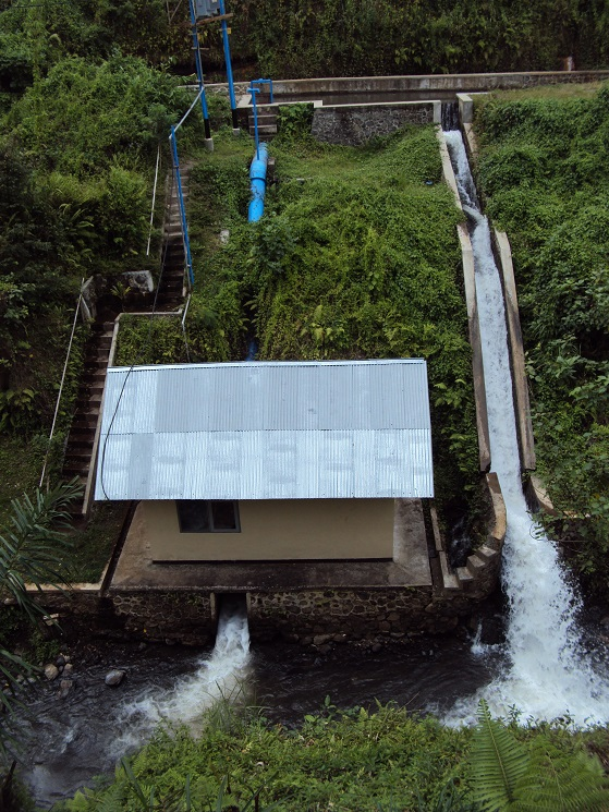 Australian and Indonesia could share innovations in renewable energies such as micro-hydro power. Pictured is a power station in Lombok.