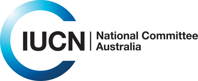 Logo for the Australian Committee for International Union for Conservation of Nature (IUCN).