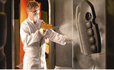 CSIRO's zero-waste powder coating in action