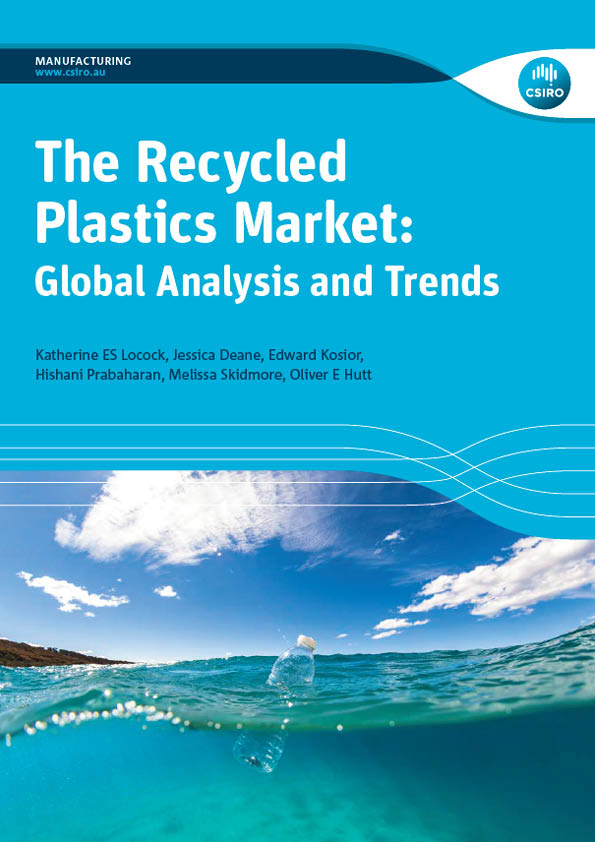 An image of the cover of the The Recycled Plastics Market: Global Analysis and Trends report