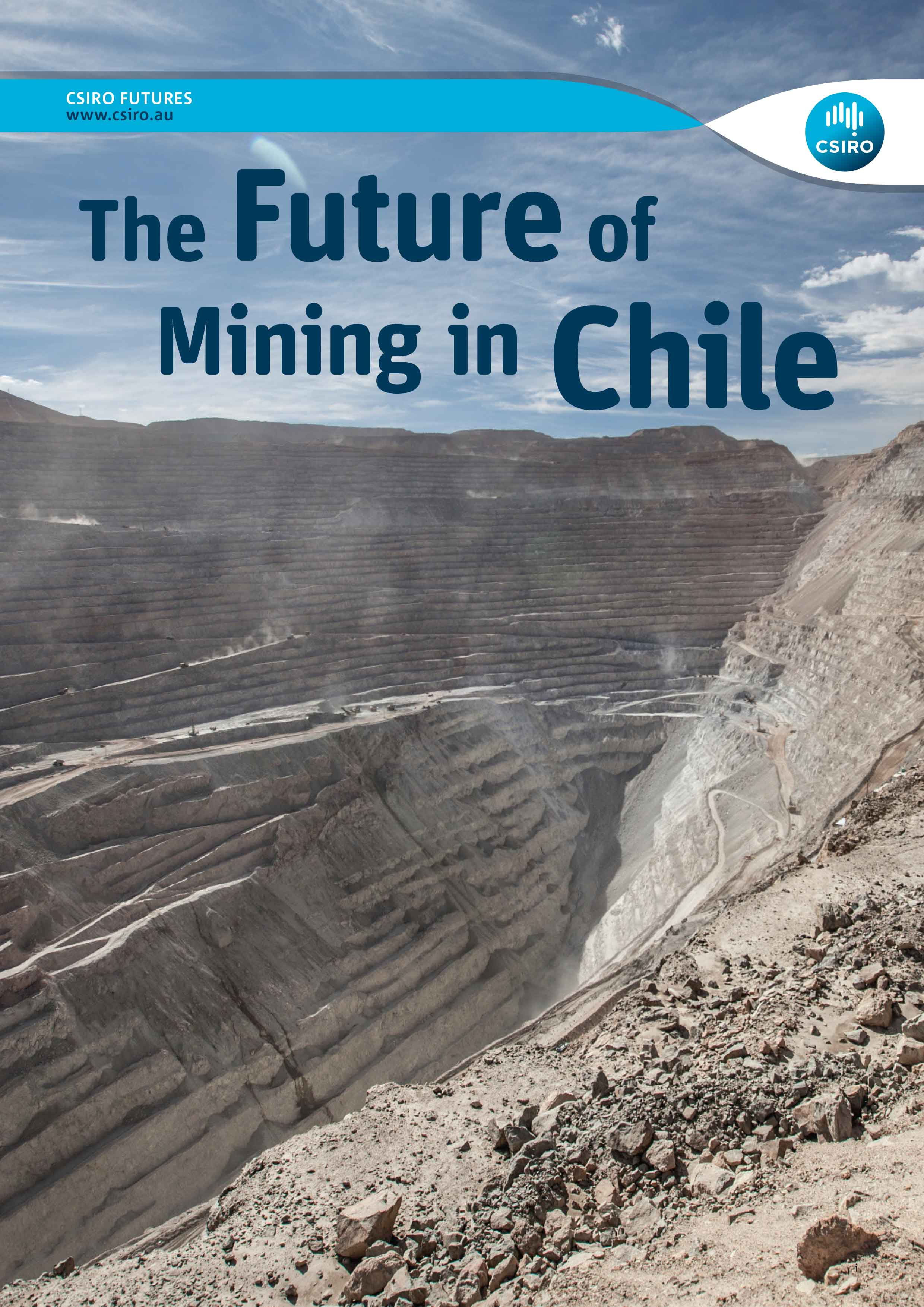 Cover of English version Future of Mining in Chile report