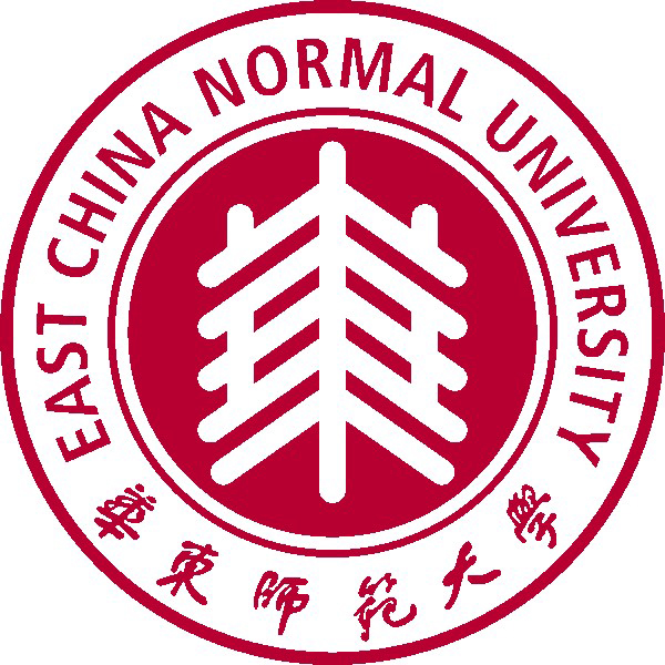 East China Normal University logo.