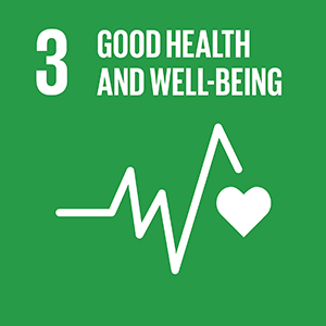 United Nations Sustainable Development Goal 3: Good Health and Well-Being logo