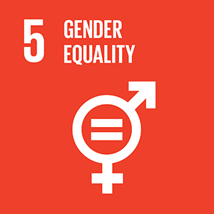 United Nations Sustainable Development Goal 5: Gender Equality logo