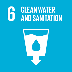 United Nations Sustainable Development Goal 6: Clean Water and Sanitation logo