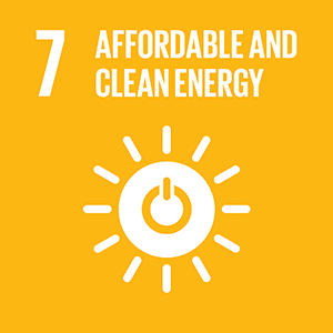 United Nations Sustainable Development Goal 7: Affordable and Clean Energy logo
