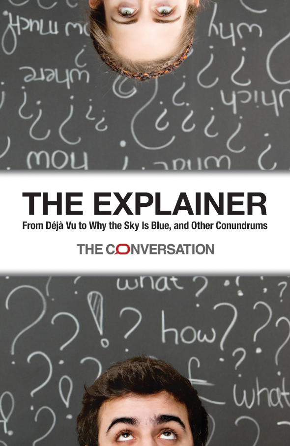The Explainer book cover.