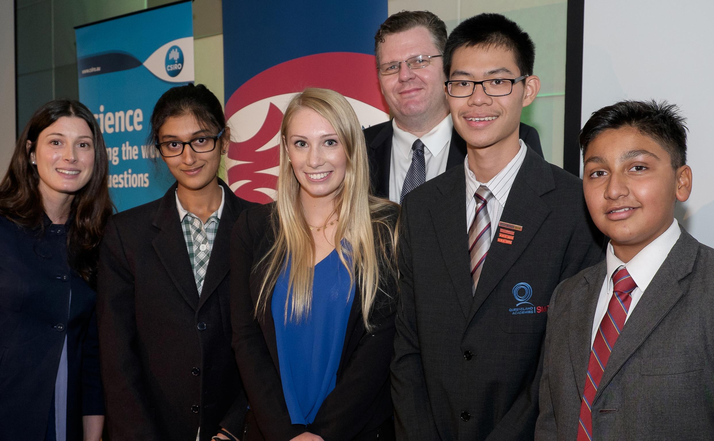 Winners from the 2014 BHP Billiton Science and Engineering Awards