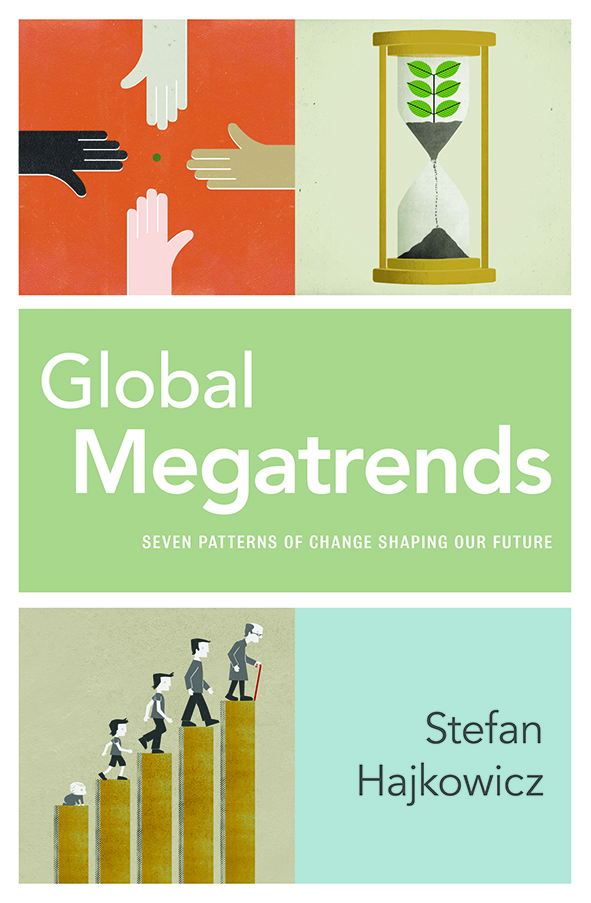 Front cover of the Global Megatrends: Seven Patterns of Change Shaping Our Future book.