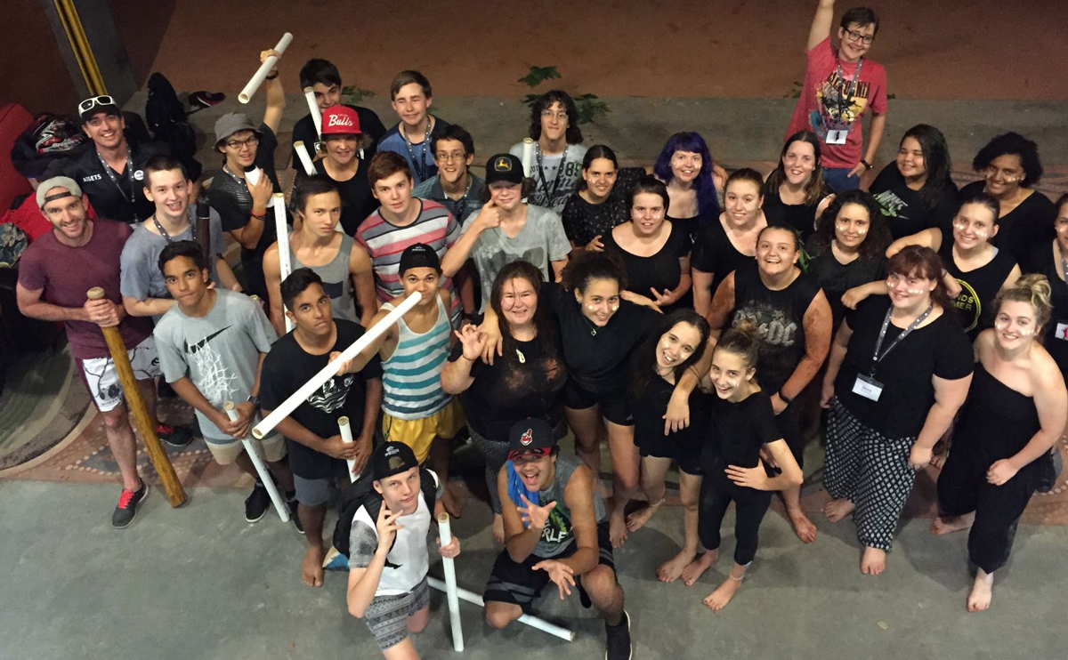 Students in the 2016 Aboriginal Summer School for Excellence in Science and Technology program