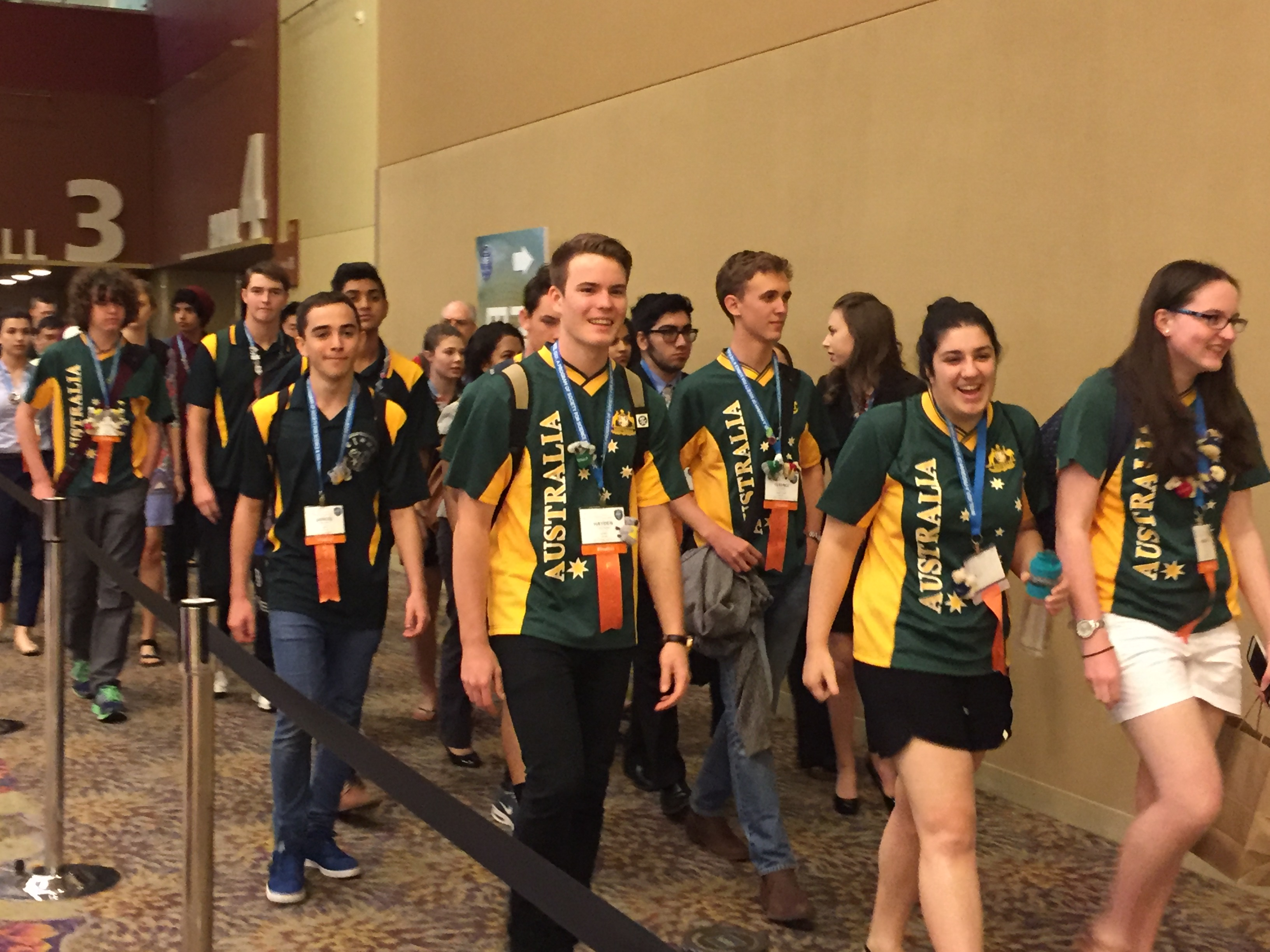 Australia students at the Intel International Science and Engineering Fair