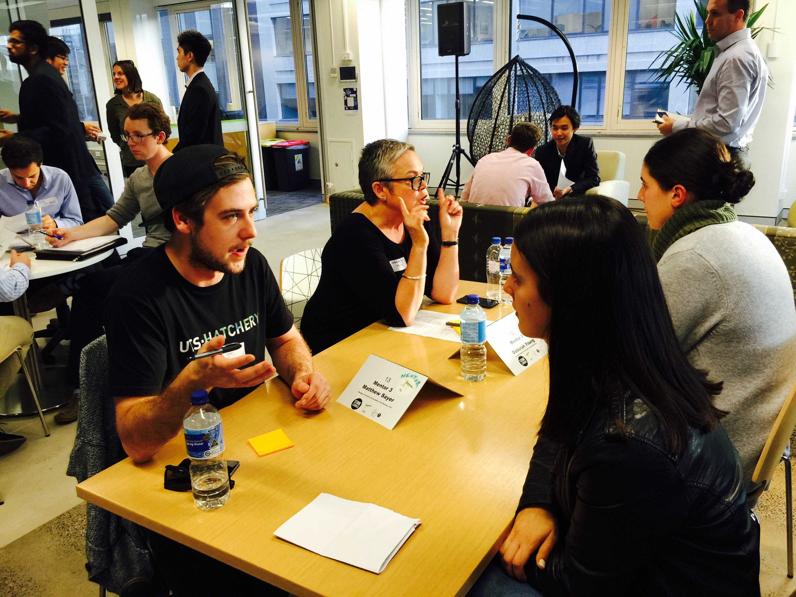 Speed dating networking events