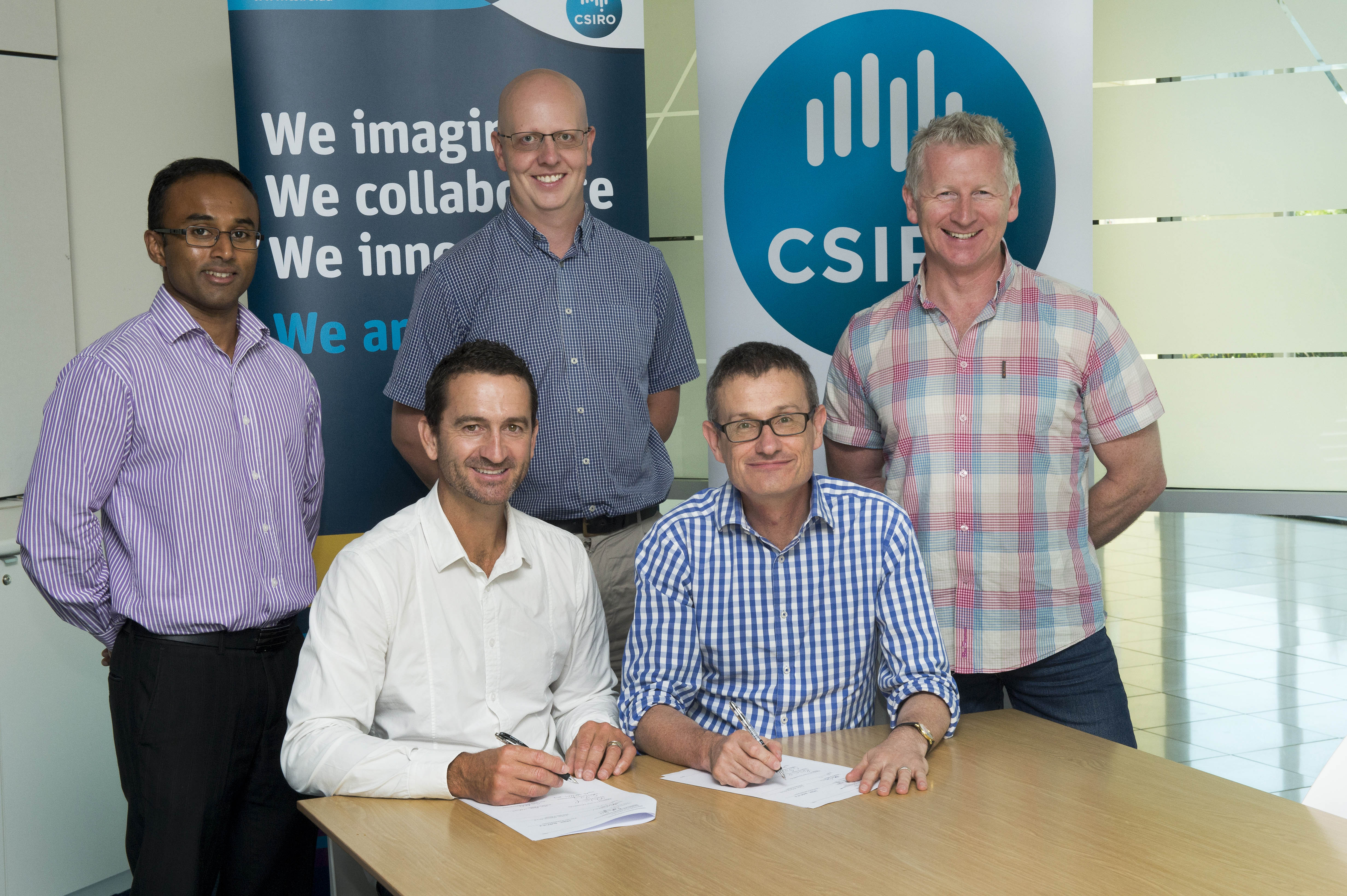 CSIRO and Ecocentric sign a new licencing and research agreement.