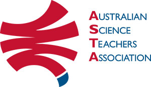 Australian Science Teachers Association logo.